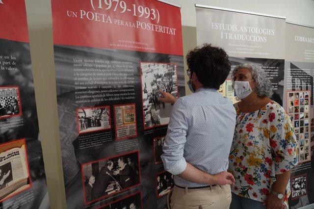Exposició sobre el poeta Vicent Andrés Estellés a Burjassot (València)