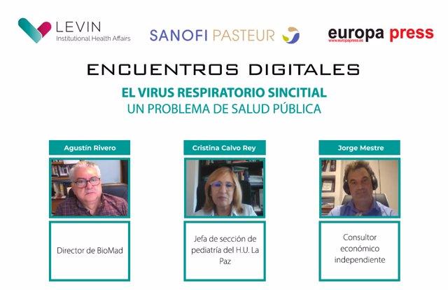 Encuentro Informativo sobre  el abordaje óptimo del Virus respiratorio Sincitial
