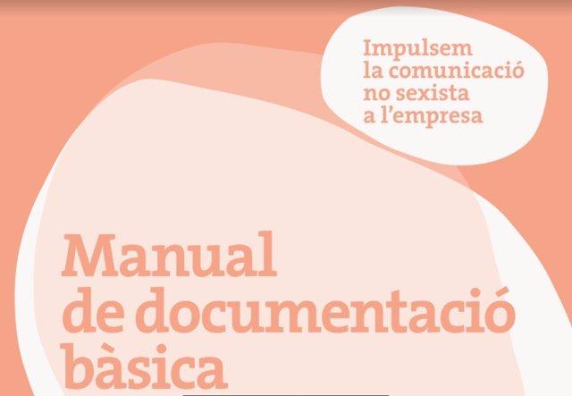 La Cambra de Barcelona crea un manual de comunicació no sexista per a l'àmbit laboral
