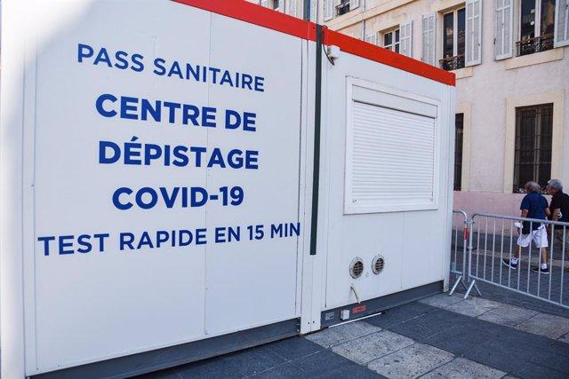 Instalaciones para obtener el pasaporte COVID en Marsella