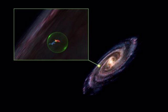 Zoom en la Vía Láctea