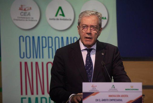Archivo - El consejero de Transformación Económica y Universidades, Rogelio Velasco (archivo)
