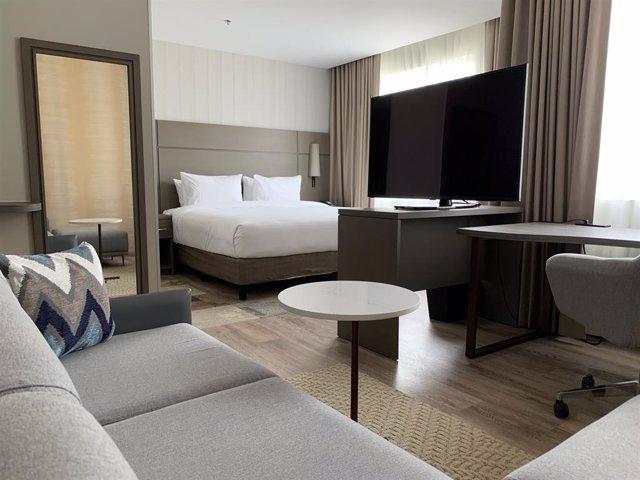 Archivo - Hotel Residence Inn by Marriott en México.