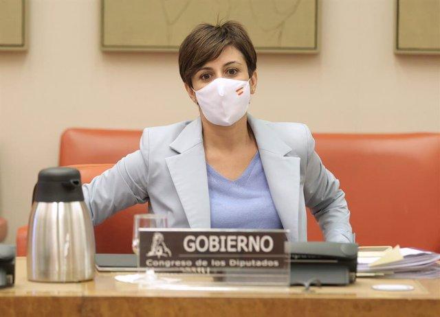 La ministra de Política Territorial, Isabel Rodríguez
