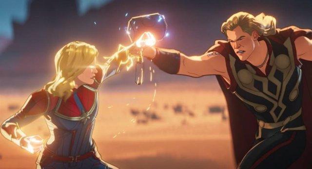 What If reabre el debate: ¿Es la Capitana Marvel la más poderosa de los Vengadores?