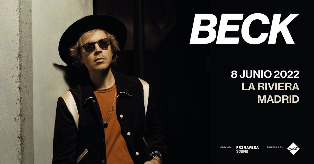 Beck will perform in Madrid and Barcelona within his European tour in 2022