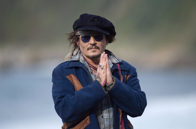 El actor Johnny Depp llega a la 69ª edición del Festival Internacional de Cine de San Sebastián, para recibir el Premio Donostia