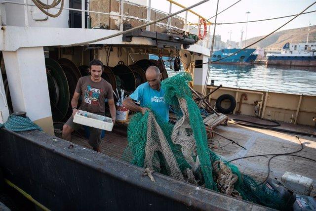 Pescadores griegos