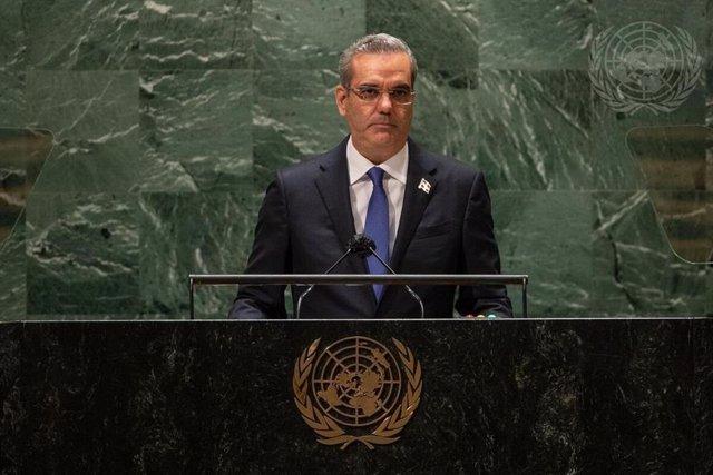 El presidente de República Dominicana, Luis Rodolfo Abinader Corona.