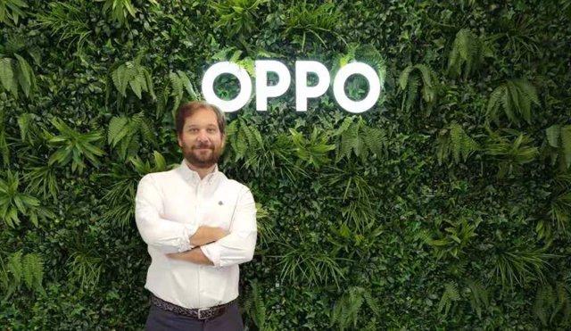 Álvaro Galán, director de Producto y Estrategia de OPPO para España y Portugal