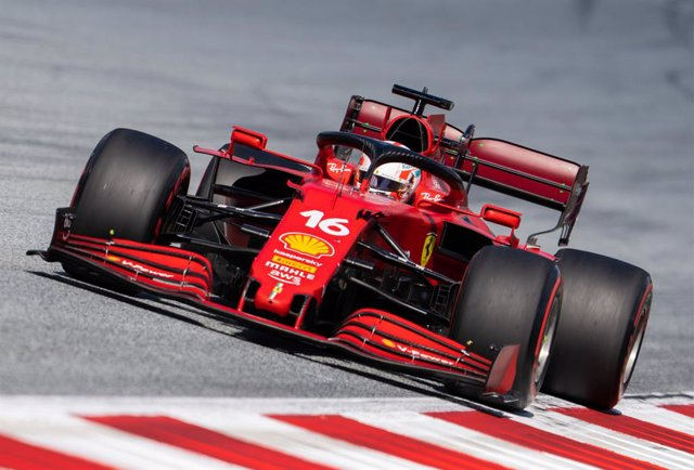 Archivo - 26 June 2021, Austria, Spielberg: Ferrari's Formula 1 Monegasque driver Charles Leclerc drives during the third practice session ahead of the Formula One Grand Prix of Styria,  at the Red Bull Ring in Spielberg. Photo: Georg Hochmuth/APA/dpa