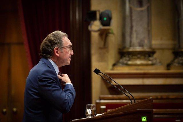 Archivo - Arxiu - El conseller d'Economia i Hisenda de la Generalitat, Jaume Giró