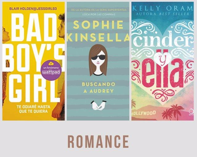 Títulos sobre romances