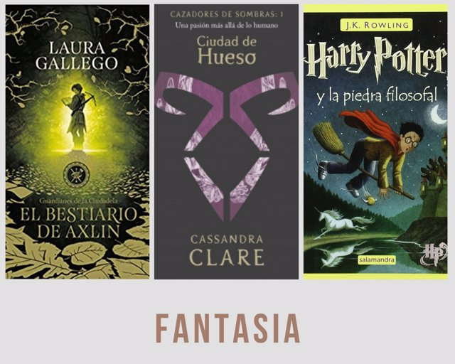 Títulos libros fantasía
