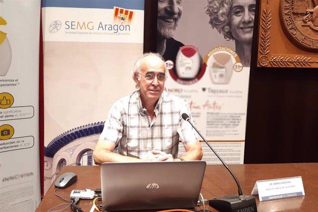 El doctor Mario Bárcena, miembro del Grupo Respiratorio de SEMG.