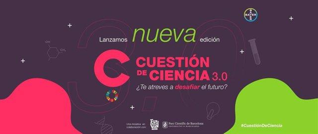 Nueva edición de su concurso de monólogos científicos 'Cuestión de Ciencia'.