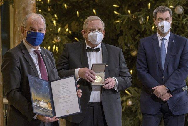 Archivo - Arxiu - L'astrofísic alemany Reinhard Genzel rep el premi Nobel de Física