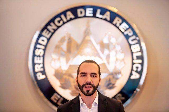 Archivo - Nayib Bukele, presidente de El Salvador