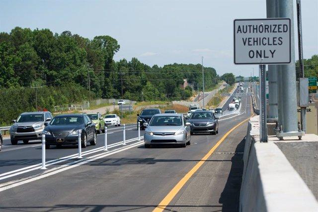 Archivo - Autopista estadounidense I-77