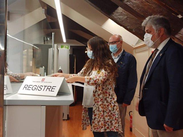 Junts registra al Parlament una proposició de llei per crear una llei audiovisual catalana