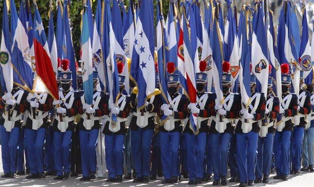 Actos conmemorativos en el aniversario de la independencia de Honduras