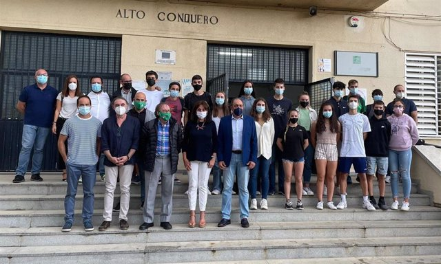Primera reunión del grupo de trabajo en el Centro Educativo de Excelencia Deportiva (Ceeda) de Huelva.