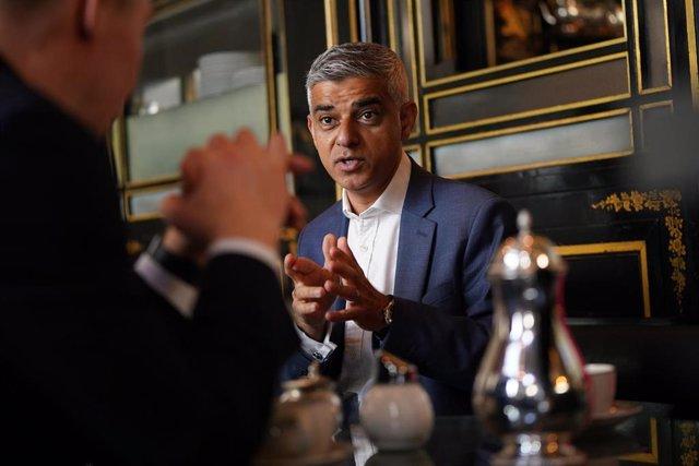 Archivo - El alcalde de Londres, Sadiq Khan.