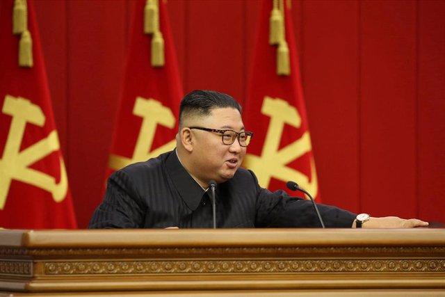 Archivo - El líder de Corea del Norte, Kim Jong Un.