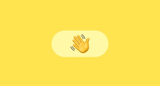 Wave', el gesto de saludar con la mano