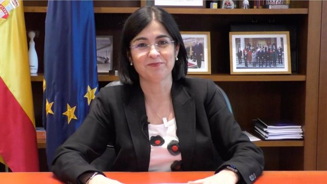 Archivo - Carolina Darias, ministra de Sanidad