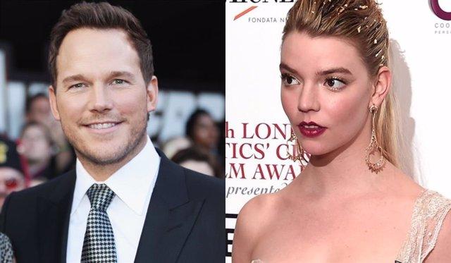Chris Pratt y Anya Taylor-Joy pondrán voz a la película de Super Mario Bros