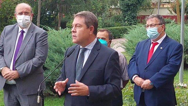 El presidente de Castilla-La Mancha, Emiliano García-Page, en un acto en Cuenca
