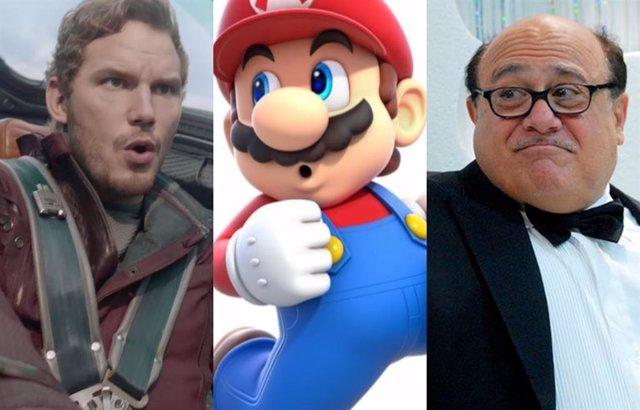 Los fans prefieren a Danny Devito como Mario en lugar de Chris Pratt