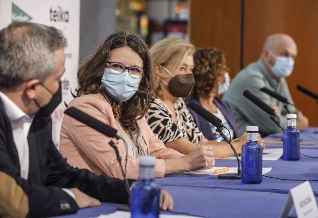 La vicepresidenta i consellera d'Igualtat i Polítiques Inclusives, Mónica Oltra