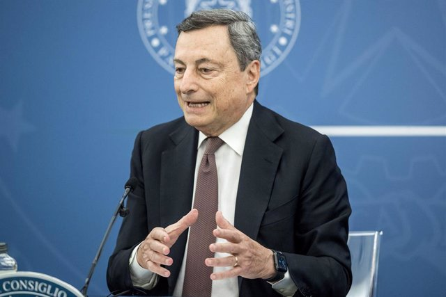 Archivo - Arxivo - El primer ministre italià, Mario Draghi