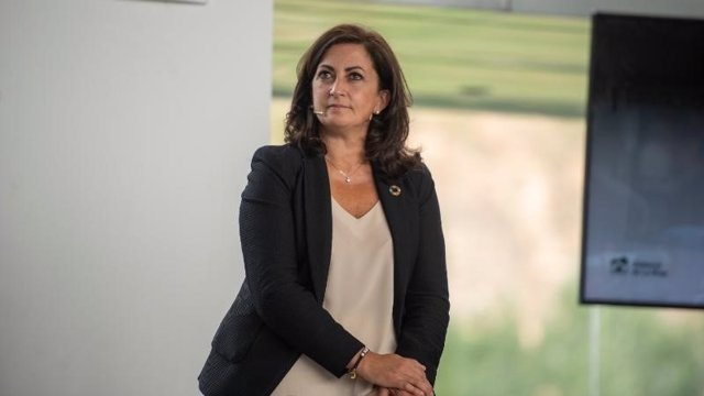 La presidenta del Gobierno de La Rioja, Concha Andreu