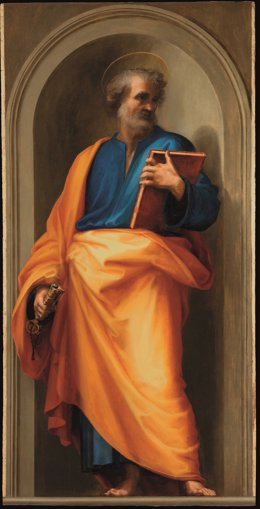 Archivo - San Pedro, en los Museos Vaticanos