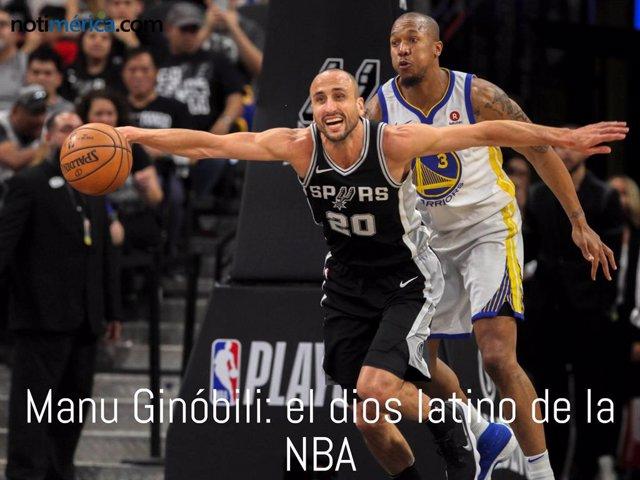 Archivo - Ginóbili, el dios latino de la NBA finaliza su carrera