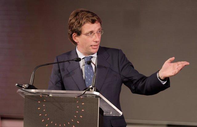 L'alcalde de Madrid, José Luís Martínez-Almeida