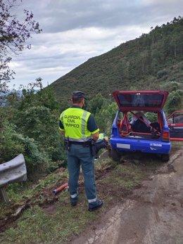 Accidente mortal en el Rallye Villa de Llanes.