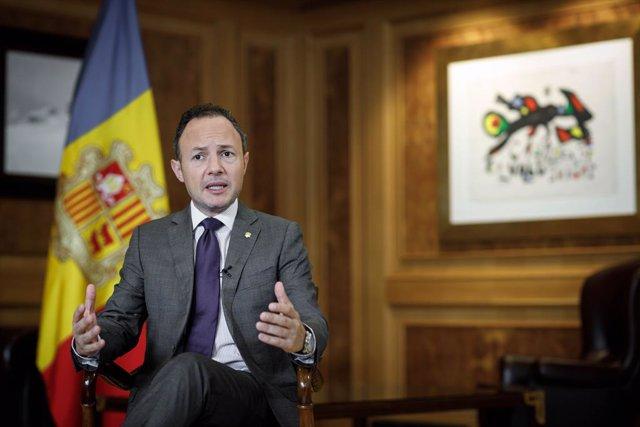 Discurs telemàtic del cap de Govern d'Andorra, Xavier Espot, en la 76 sessió de l'Assemblea General de l'ONU