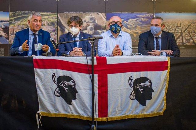 """VÍDEO: Puigdemont reafirma el seu compromís amb la independència: """"Seguirem lluitant"""""""