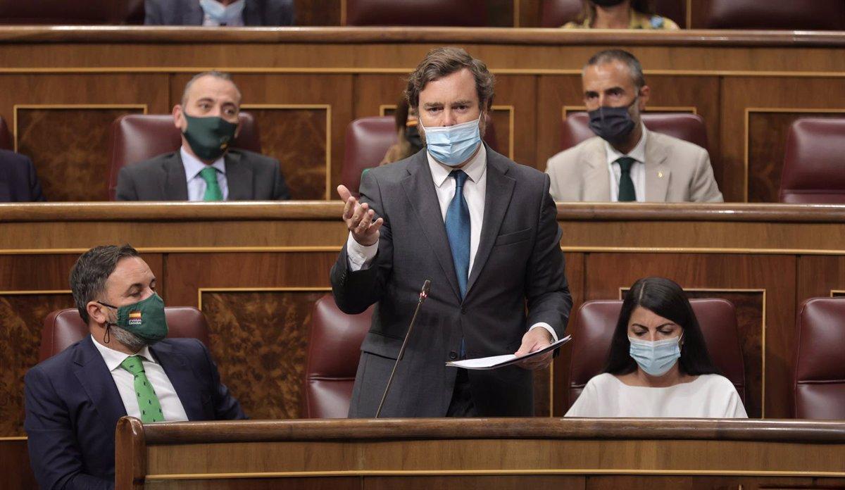 Vox pedirá mañana en el Congreso incluir a Ceuta y Melilla bajo la protección de la OTAN