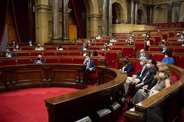Archivo - Arxiu - Ple del Parlament