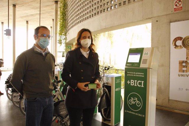 El servicio +Bici de la estación de autobuses de Córdoba