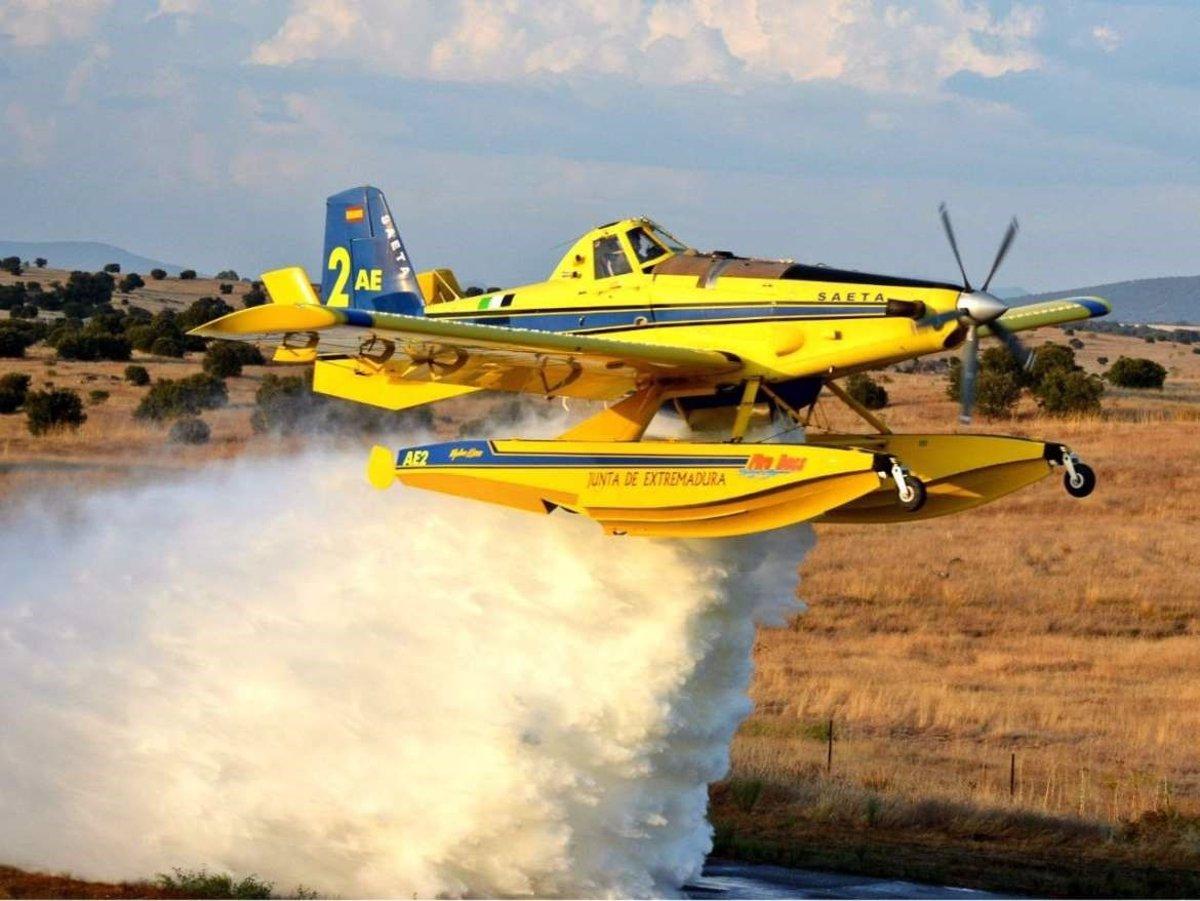 Los incendios forestales afectan a 30 hectáreas la última semana en Extremadura