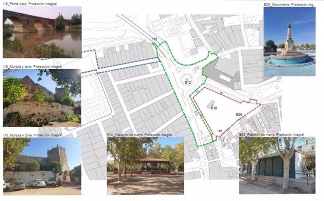 La Junta da luz verde definitiva al proyecto de regeneración del eje Parque-Colón Ribera del Guadalquivir de Andújar