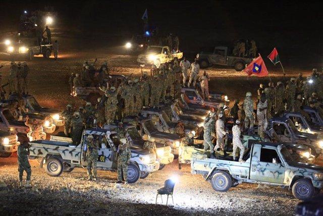 Militares en Sudán