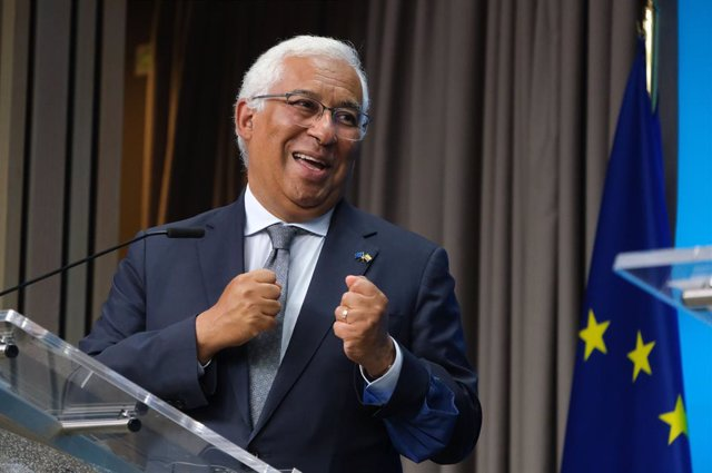 Archivo - HANDOUT - 25 June 2021, Belgium, Brussels: Portuguese Prime Minister Antonio Costa speaks during a press conference after a two-days European Union summit at the European Council. Photo: Alexandros Michailidis/European Council/dpa