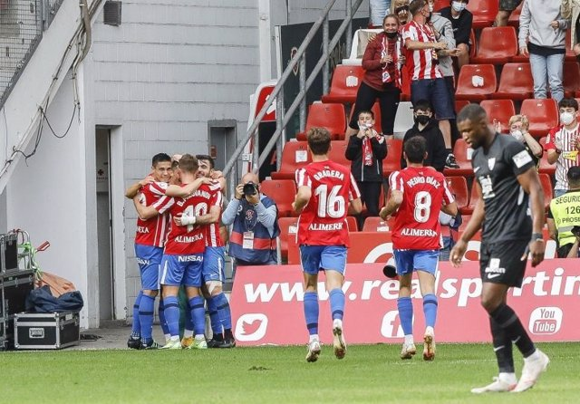 Sporting - Málaga